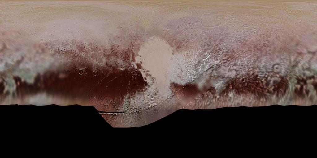 La carte de Pluton