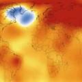 évolution des températures