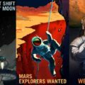 Les affiches de la NASA