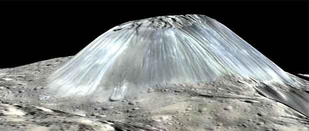 un cryovolcan sur Cérès