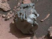météorite sur Mars