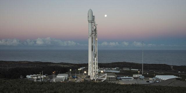 lancement du Falcon 9