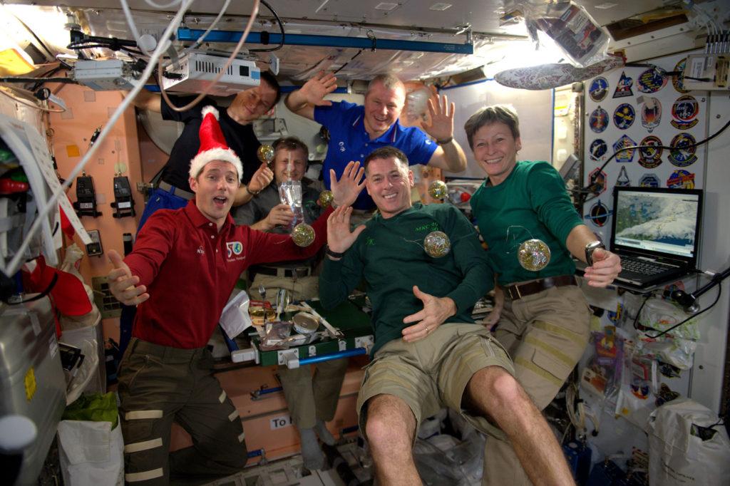 L'équipage de l'ISS : Expédition 50