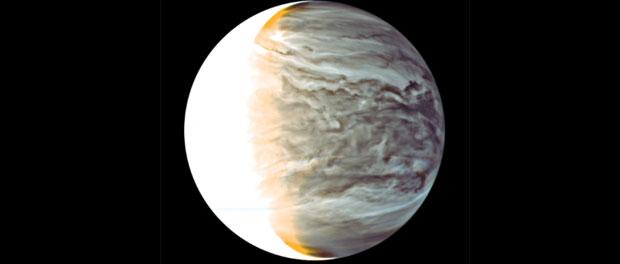 Vénus vue par la sonde spatiale Akatsuki
