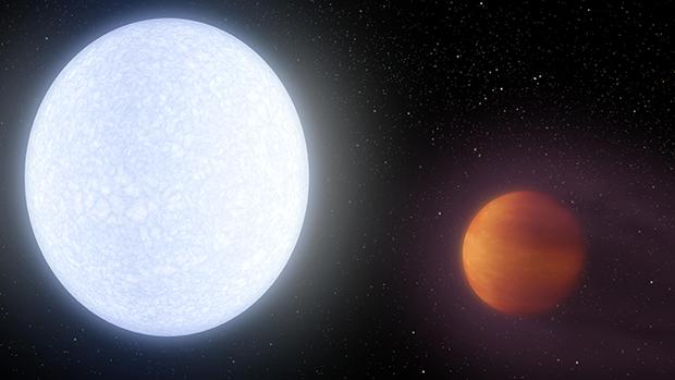planète géante la plus chaude