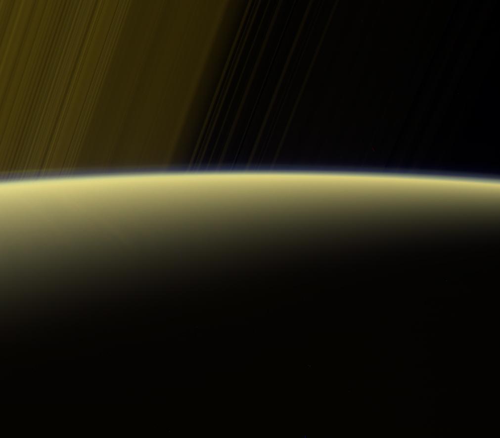 La brume de Saturne