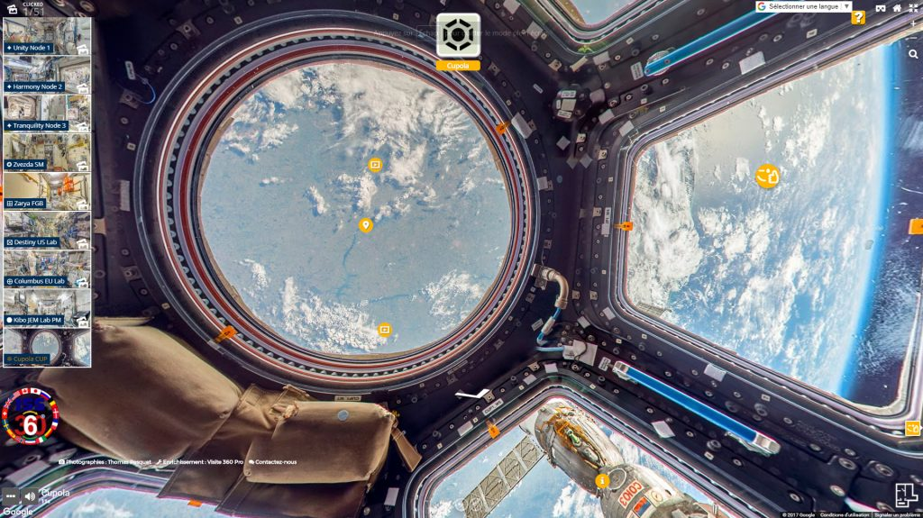 station spatiale internationale sur Street View