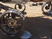 les roues de Curiosity
