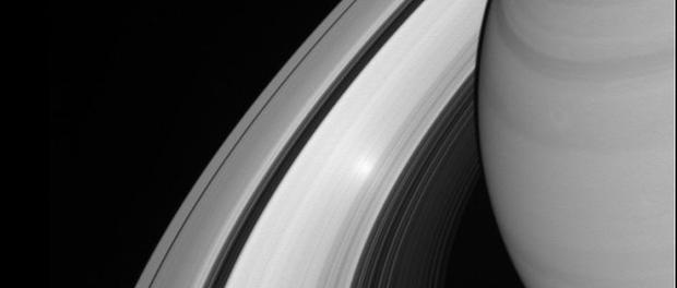 des anneaux de Saturne