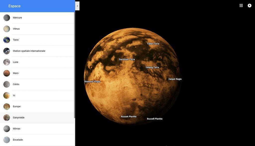 Google Maps Planète