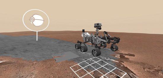Mars en réalité virtuelle
