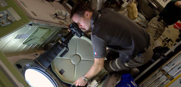photos prises depuis la station spatiale