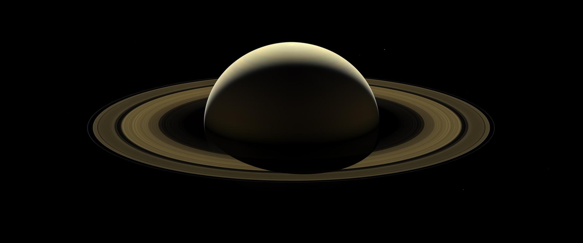 Un dernier portrait de Saturne