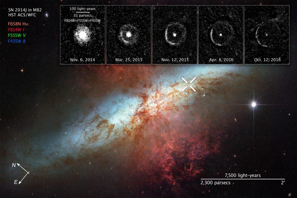 galaxie M82