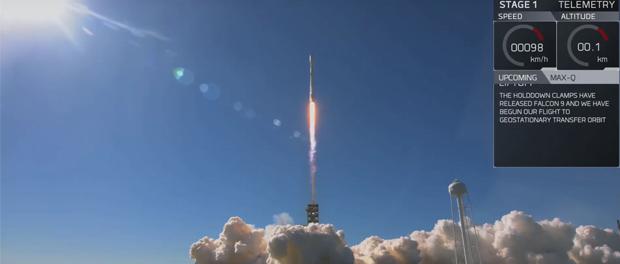 17e lancement de SpaceX