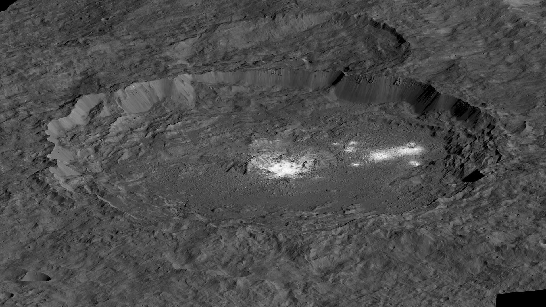 Le cratère Occator