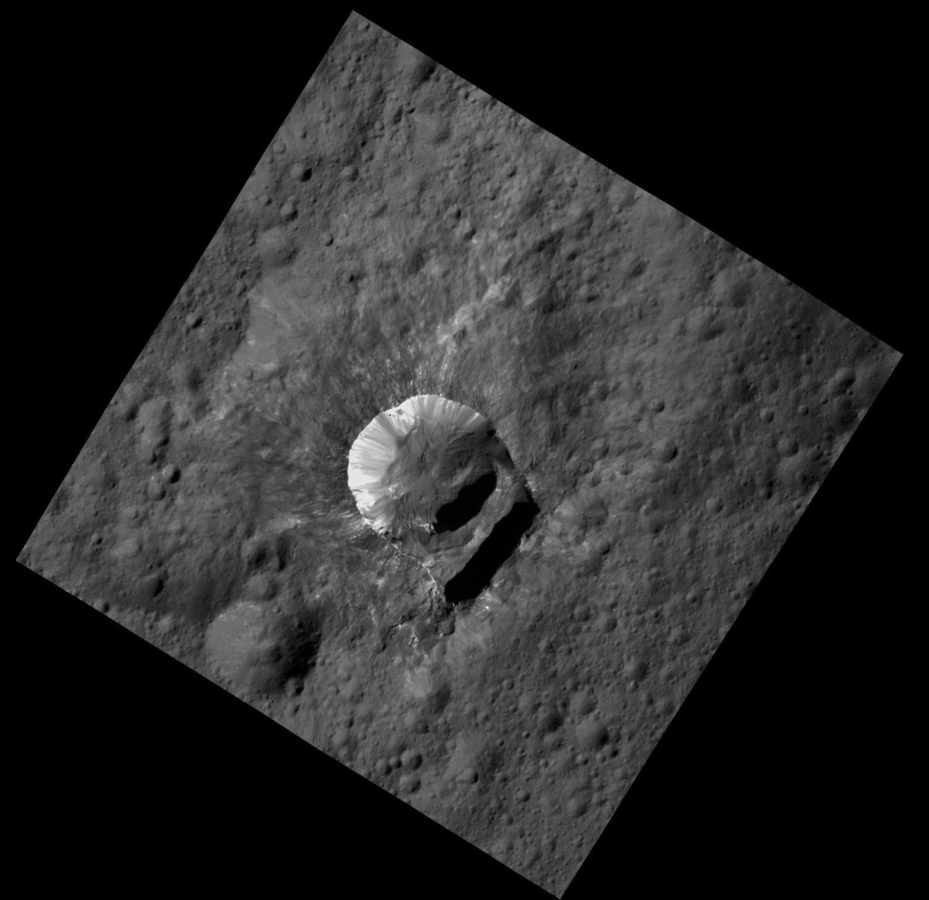 Le cratère Oxo