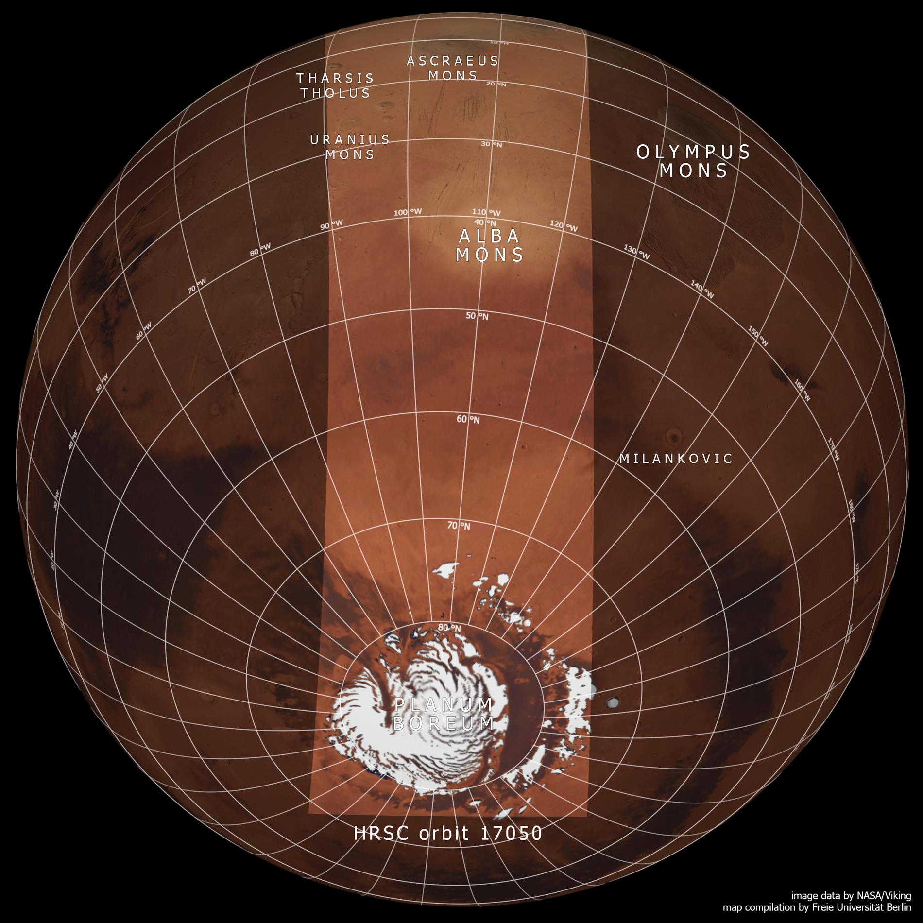 Mars global context