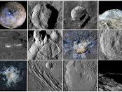 Les sites géologiques de Cérès