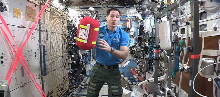 dangers de l'ISS
