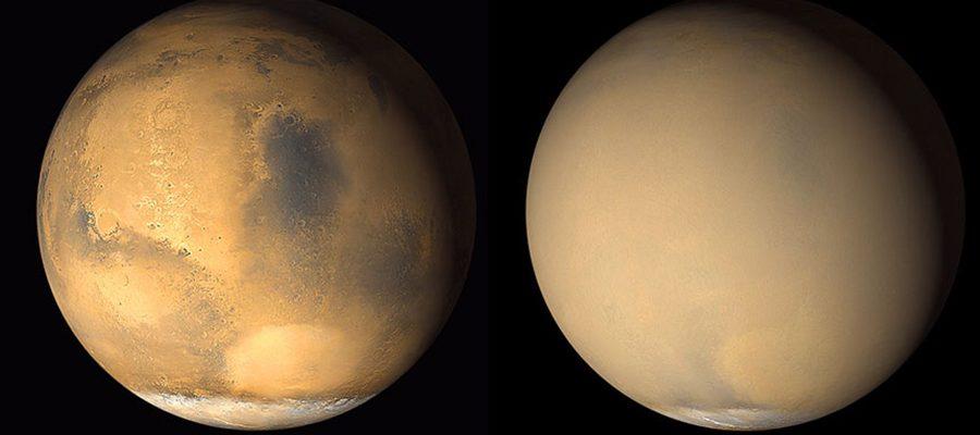 aridité de Mars
