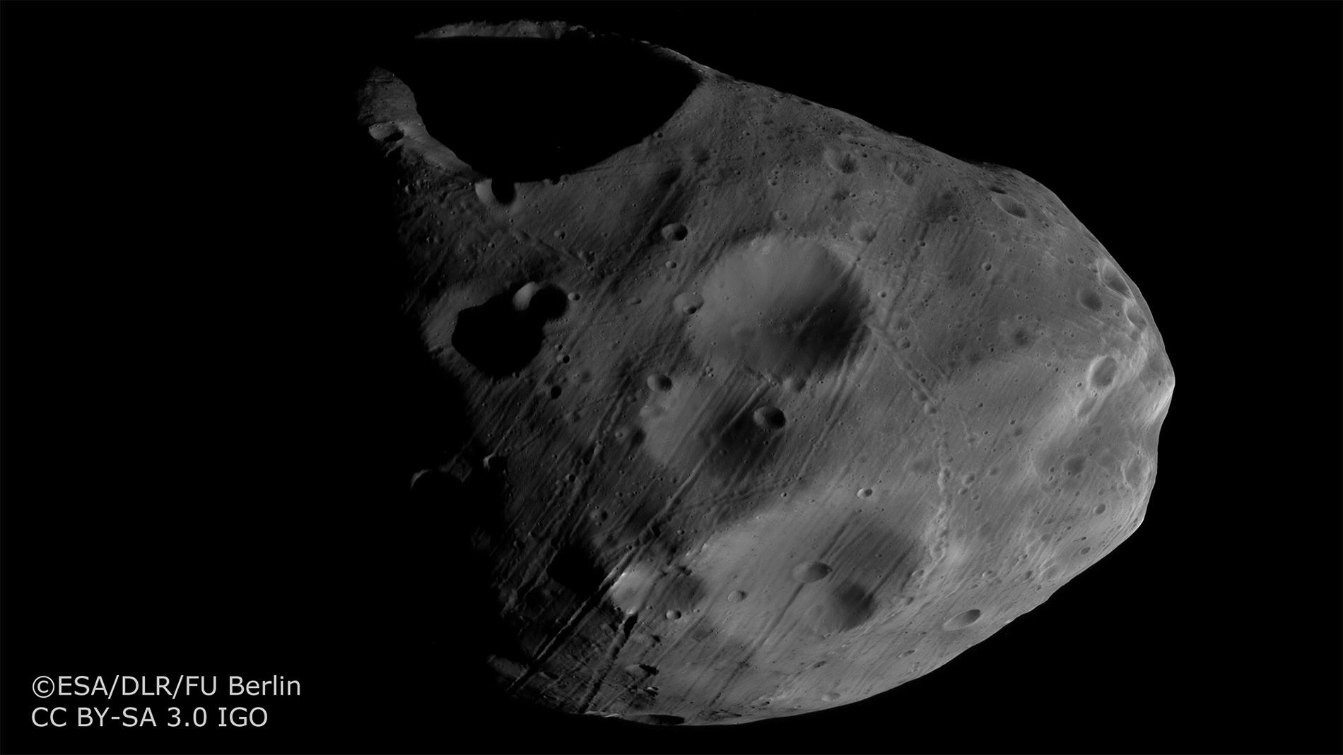 La surface de Phobos