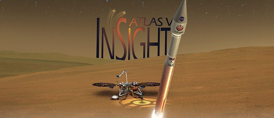 Lancement de la mission InSight