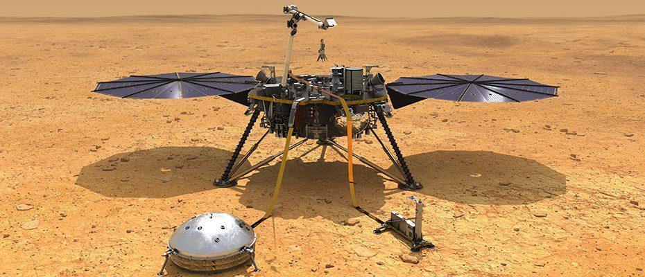 Atterrissage sur Mars de InSight