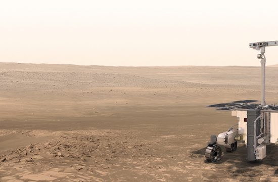 Le rover de la mission ExoMars
