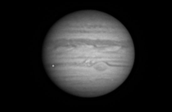impact d'astéroïde sur Jupiter