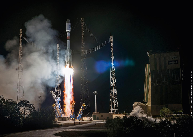 Lancement Soyouz (Arianespace - CSG)