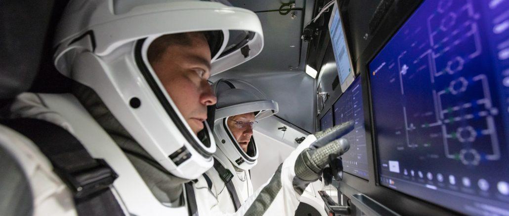 Retour du Crew Dragon et des deux astronautes en direct