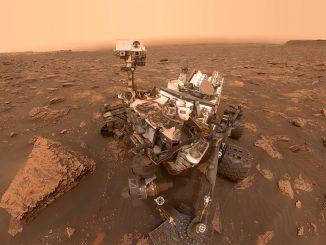 8 cartes postales martiennes pour célébrer l'anniversaire de Curiosity