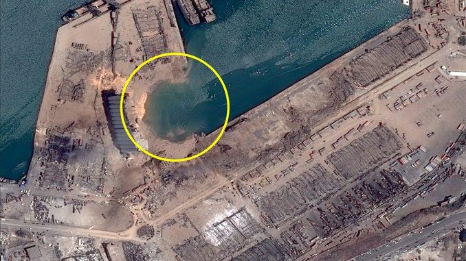 Les images des satellites Pléiades de l'explosion à Beyrouth