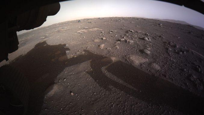 Les premières images en couleurs de Perseverance sur Mars