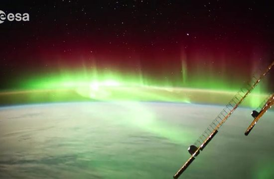 vidéos de la Terre filmées depuis l'ISS