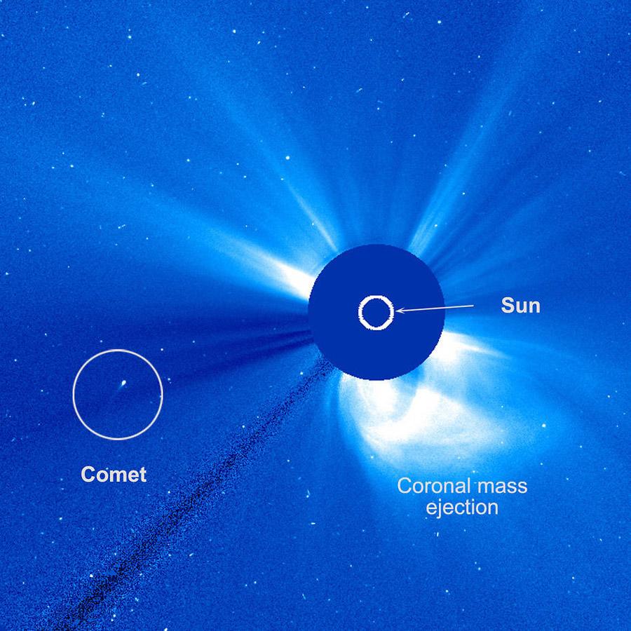 comète inhabituelle
