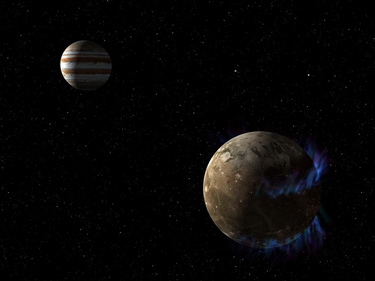 Un océan sous Ganymède