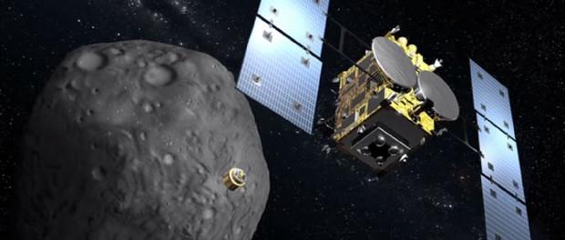 La sonde spatiale Hayabusa 2 doit prélever un échantillon et revenir avec sur Terre