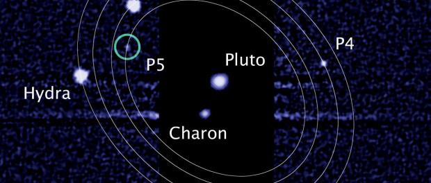 Les lunes de Pluton.