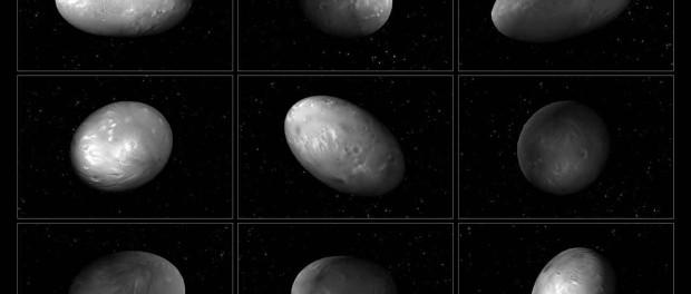 Nix a une rotation très particulière. (Image credit: NASA, ESA, M. Showalter (SETI Inst.), G. Bacon (STScI))