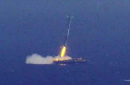 lancement de SpaceX