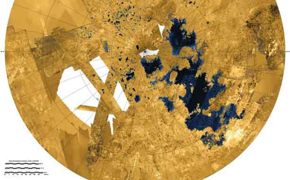Les mystérieux lacs de Titan