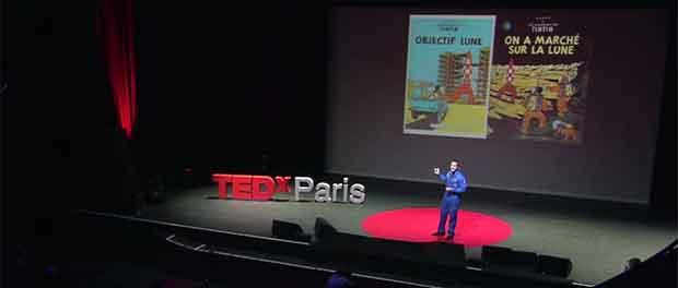conférence TEDx de Thomas Pesquet