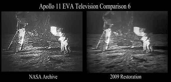 Les premiers pas sur la Lune