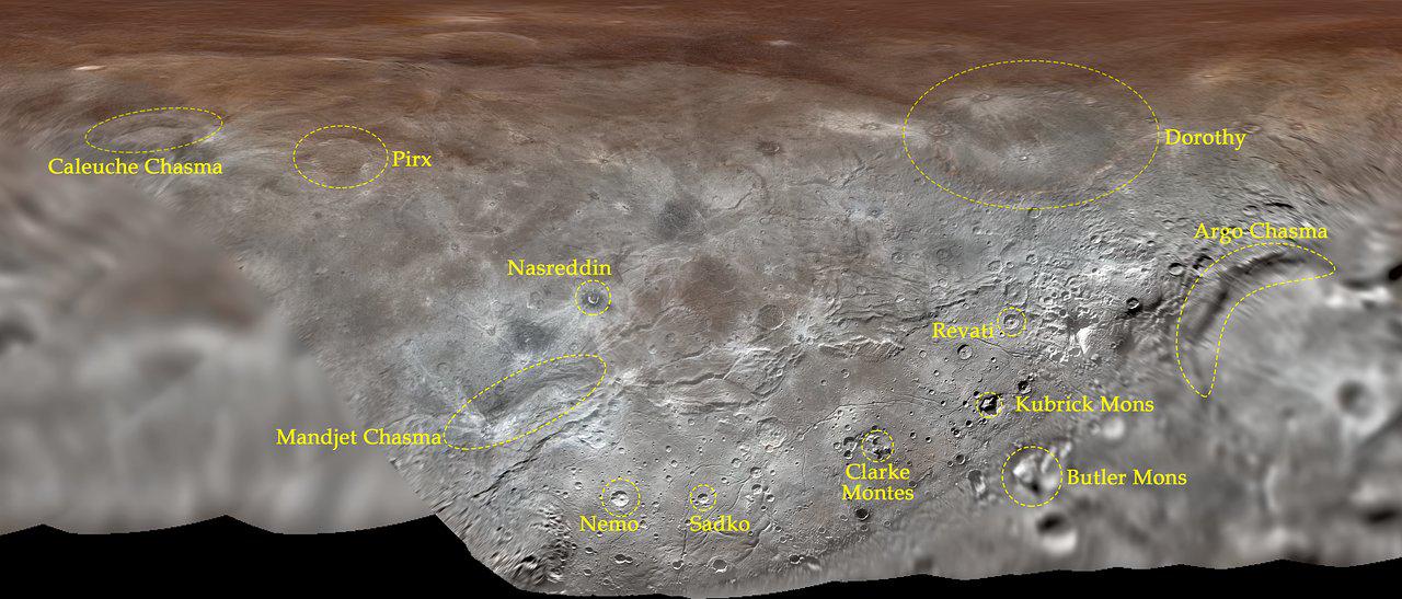 La carte de Charon