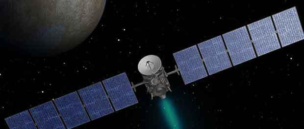 La sonde spatiale Dawn cartographie Cérès pour la NASA