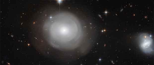 Des galaxies en éclosions