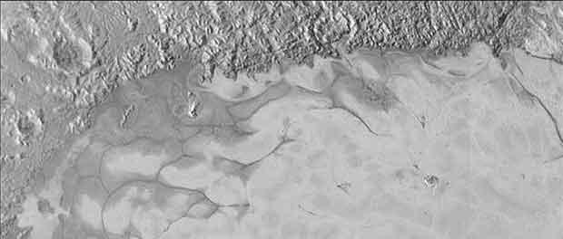 Vidéo du survol de Pluton