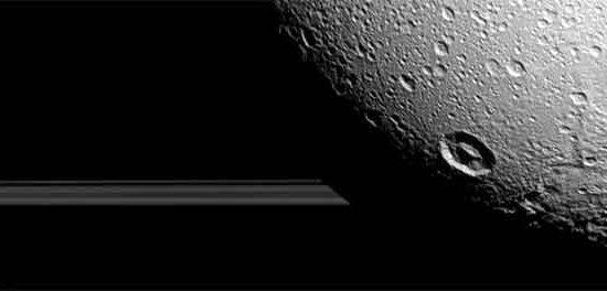 survol de Dione